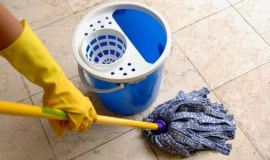 The Secret to Cleaning Grout in Tile Floors